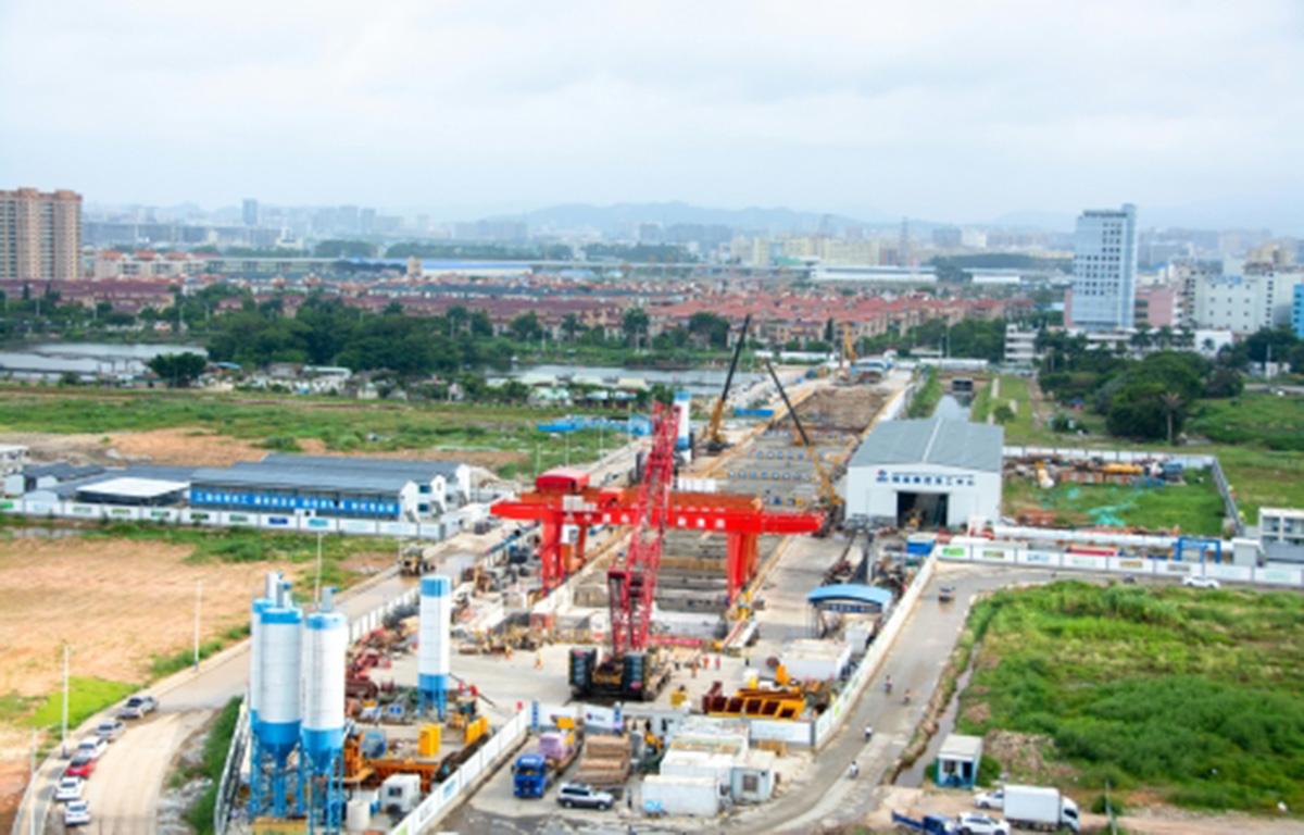 Stecol buduje 12. linię metra w Shenzhen